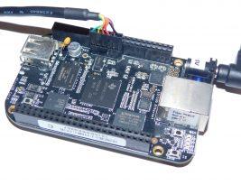 Using Serial Debug Port on BeagleBone Black