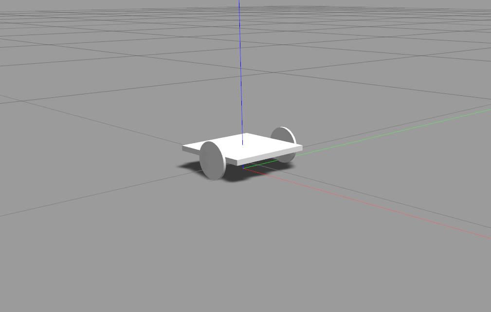 Differential Drive Robot model in Gazebo