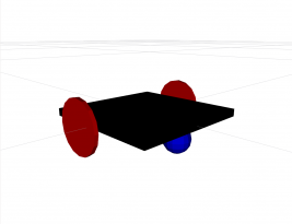 Differential Drive Robot Model in ROS Rviz